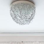DIY Crystal Chandelier Lighting