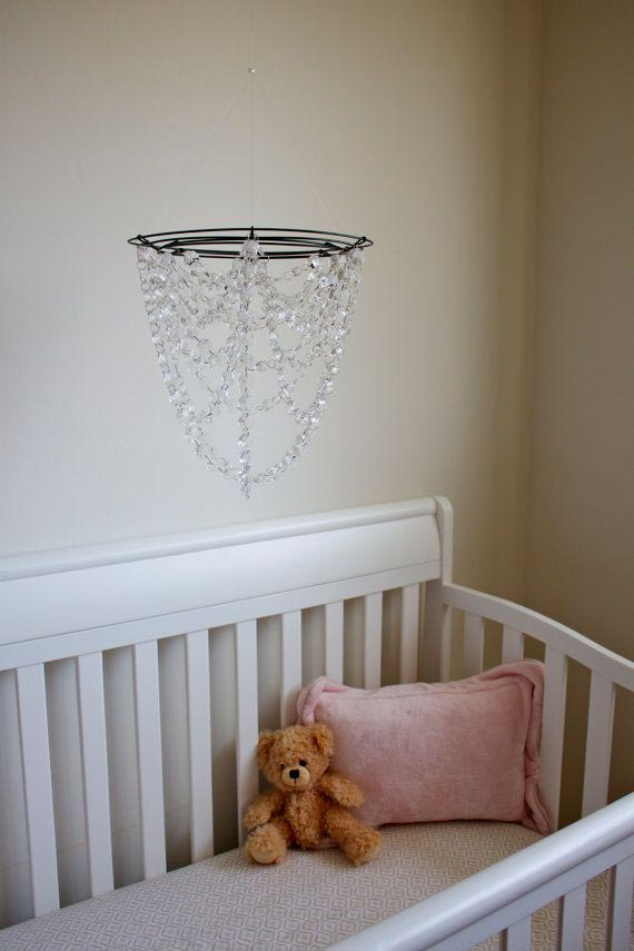 DIY Crystal Chandelier Mobile