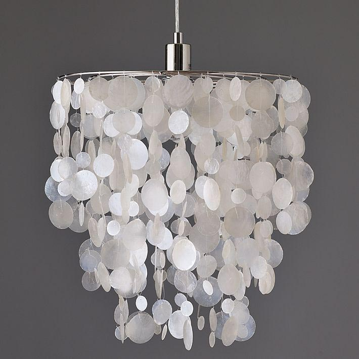DIY Faux Crystal Chandelier