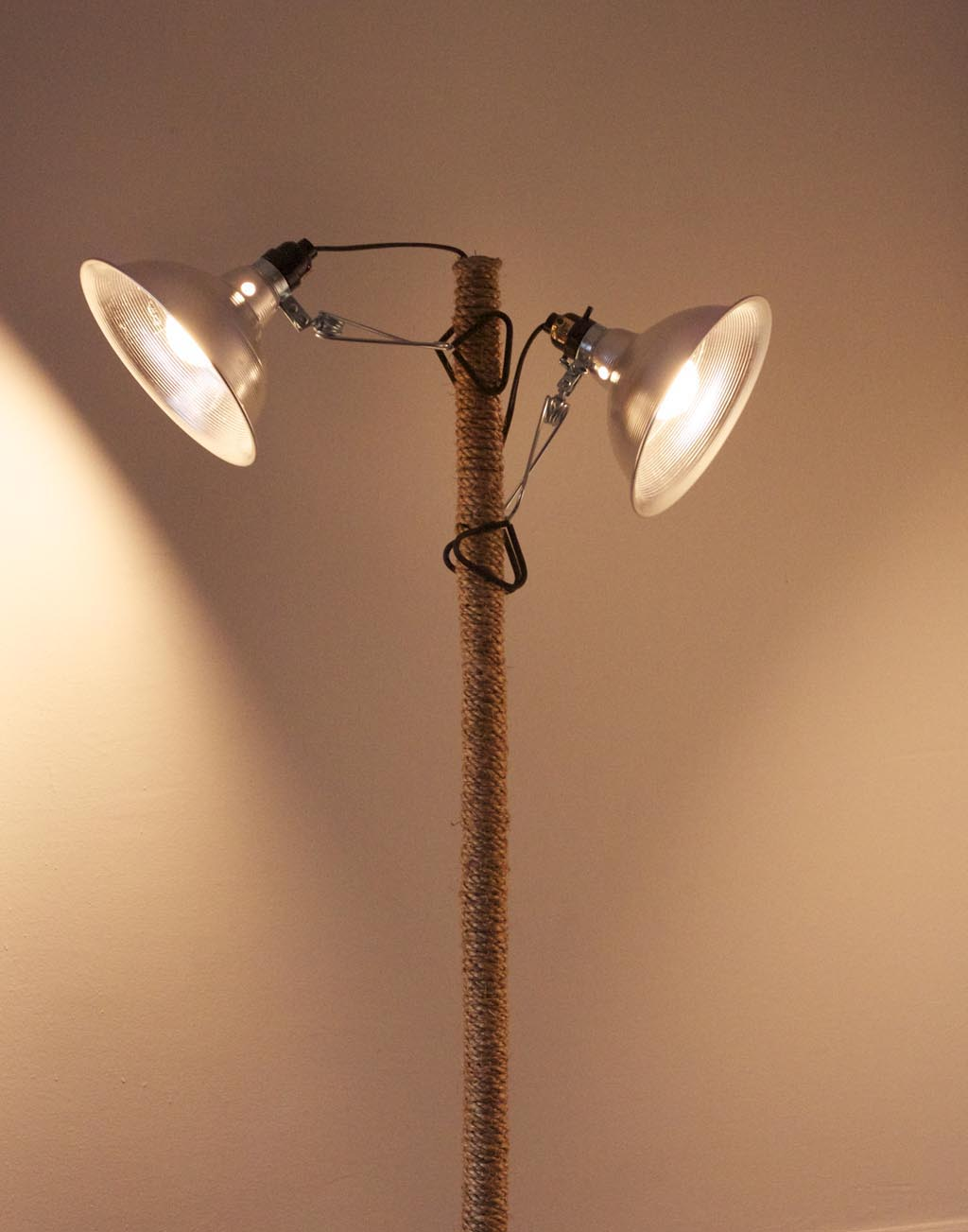 DIY Industrial Floor Lamp