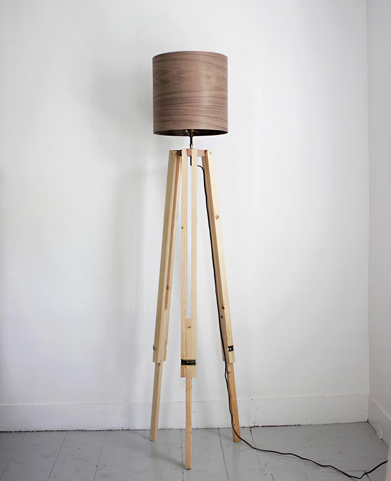 DIY Tripod Floor Lamp