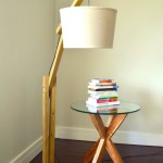 DIY Wood Floor Lamp