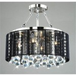 Drum Ceiling Light Fixture