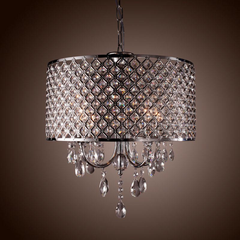 Drum Chandelier Light Fixture