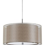 Drum Pendant Light Fixture