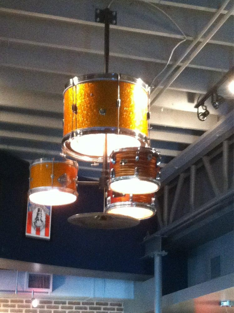 Drum Set Light Fixture