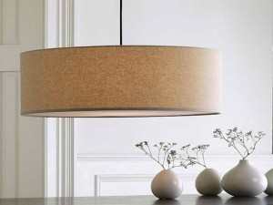 Drum Shade Light Fixture