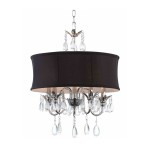 Drum Shade Pendant Light Fixture