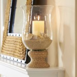 Extra Large Glass Hurricane Candle Holders