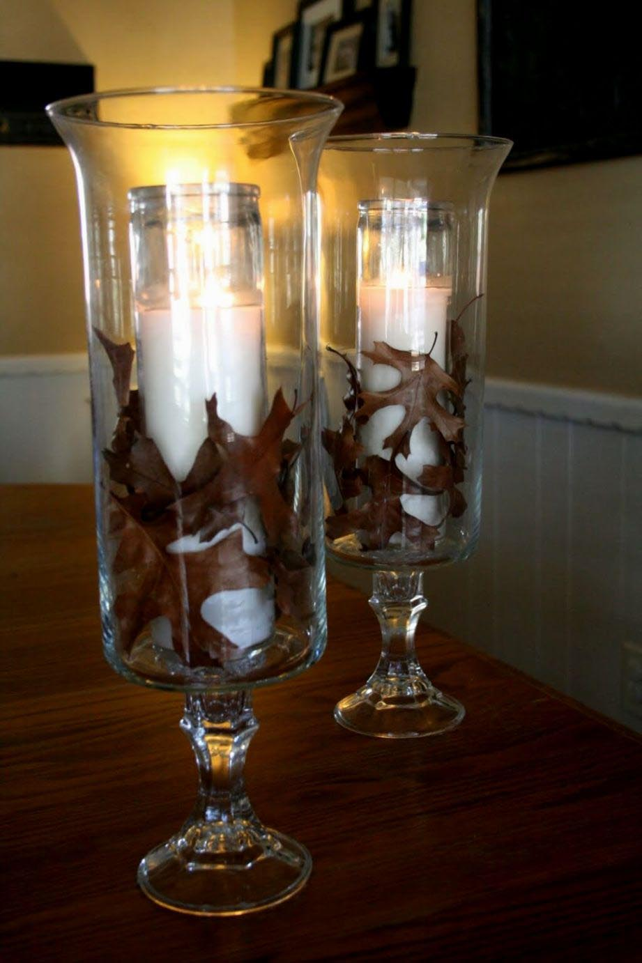 Floor Hurricane Candle Holders