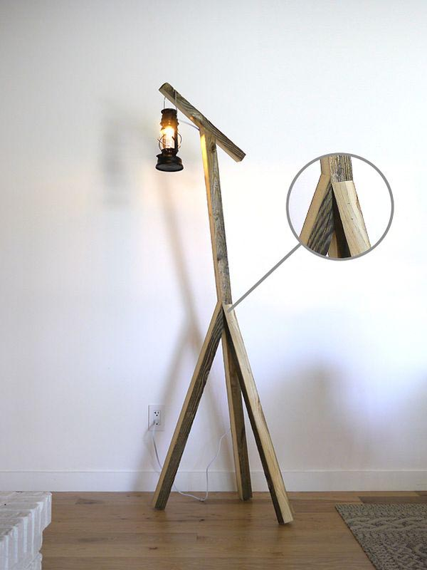 Floor Lamps Rustic Decor