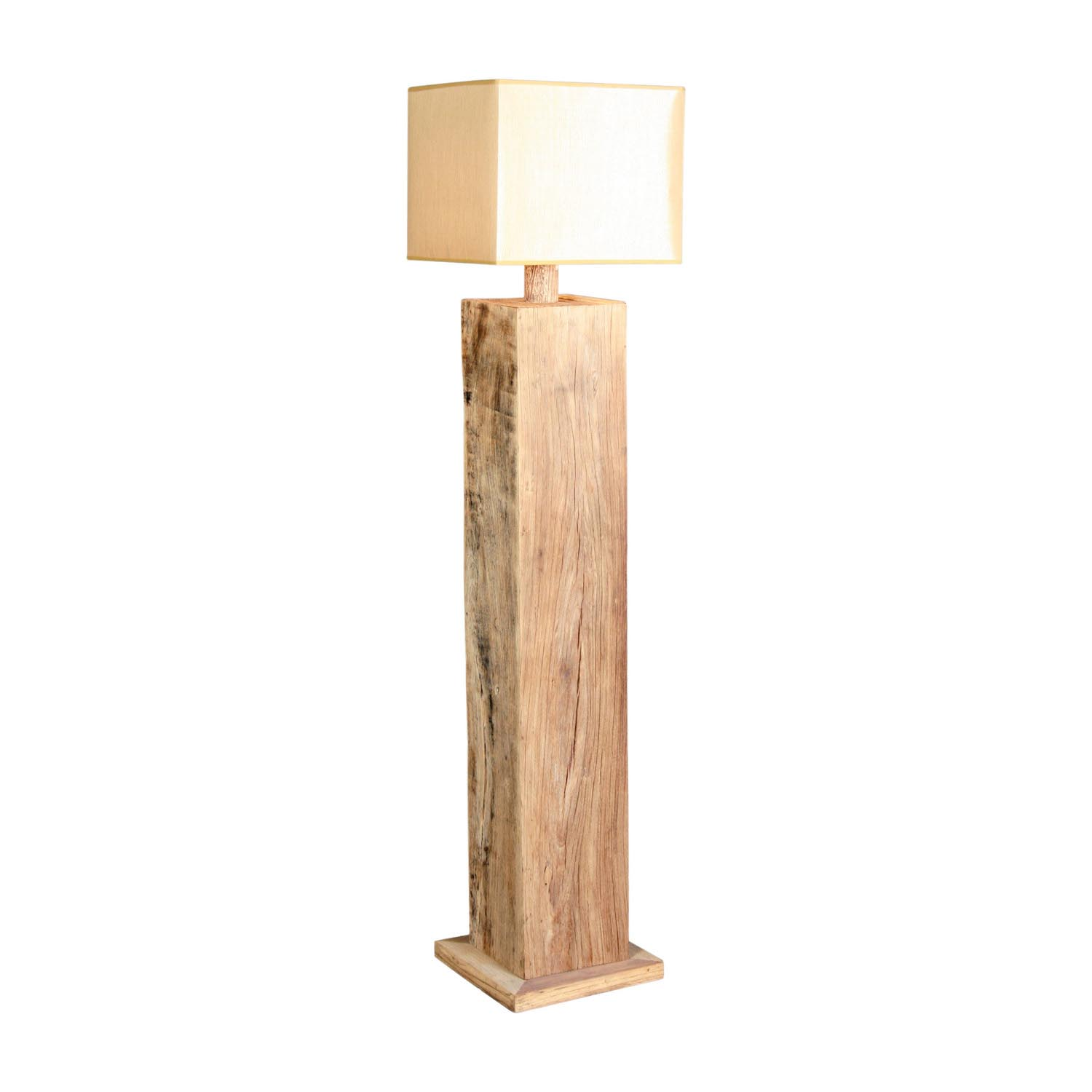 Floor lamps wooden base light fixtures design ideas for Lamp wooden