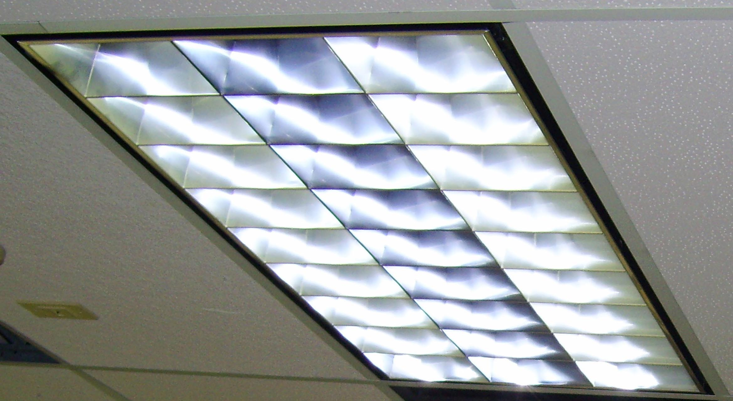Fluorescent Office Lighting Fixtures
