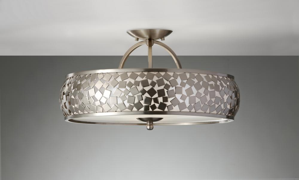 Flush Drum Light Fixture