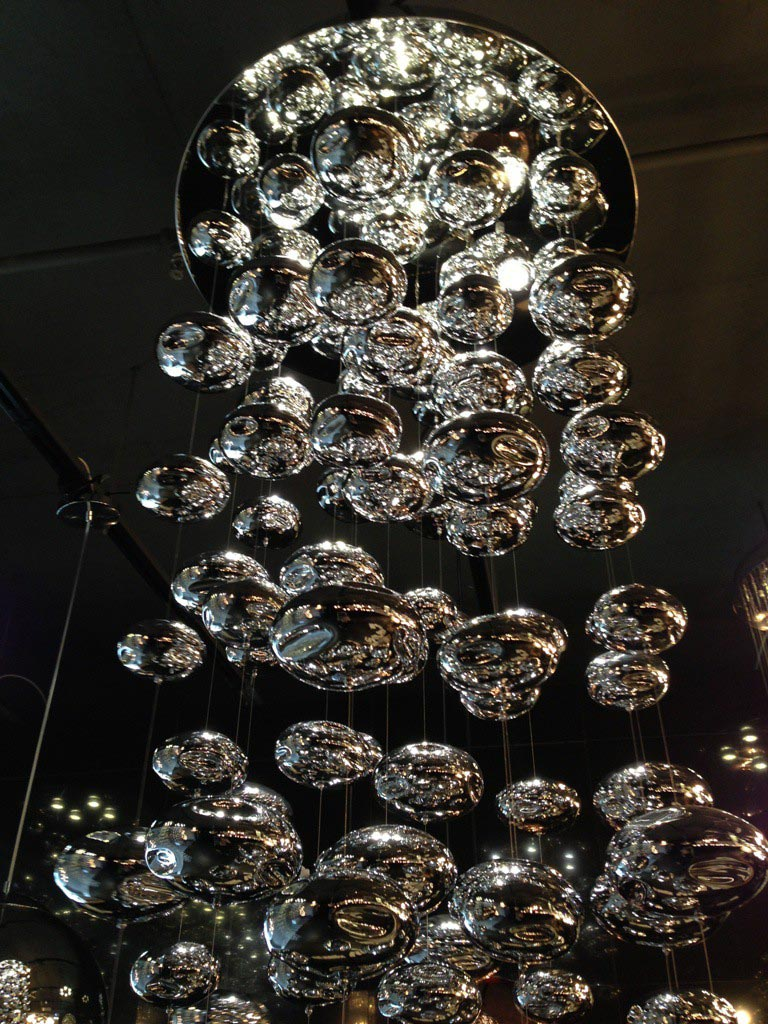 Glass Bubble Chandelier Lighting