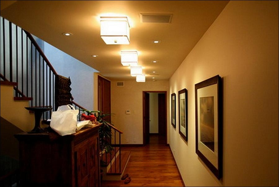 Hallway Lighting Fixtures Ceiling
