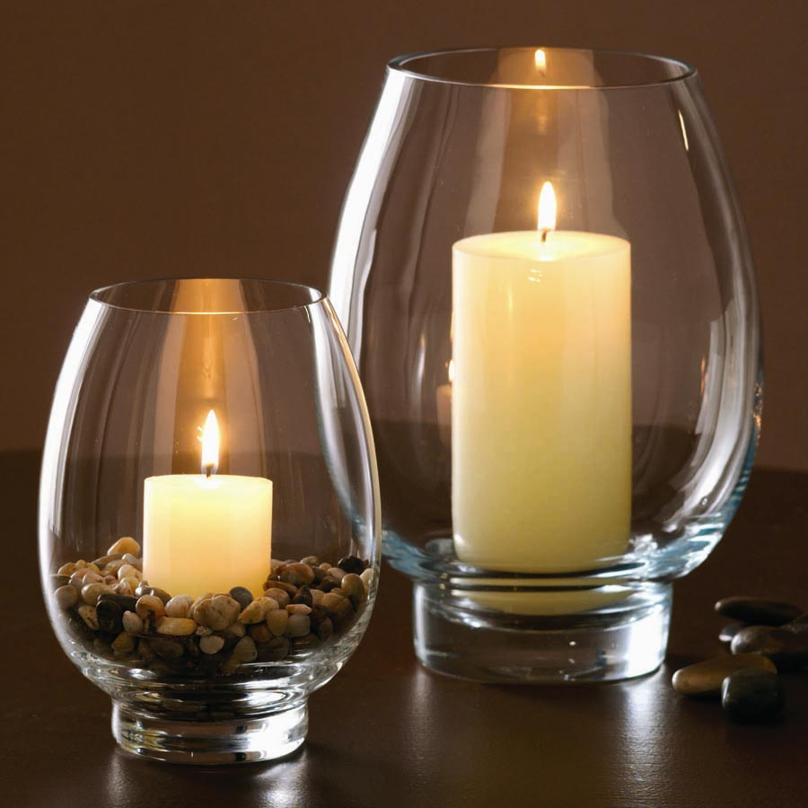 Hurricane Glass Candle Holder