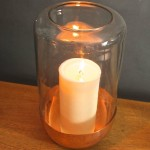 Hurricane Lamp Candle Holder