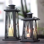 Hurricane Lantern Candle Holder