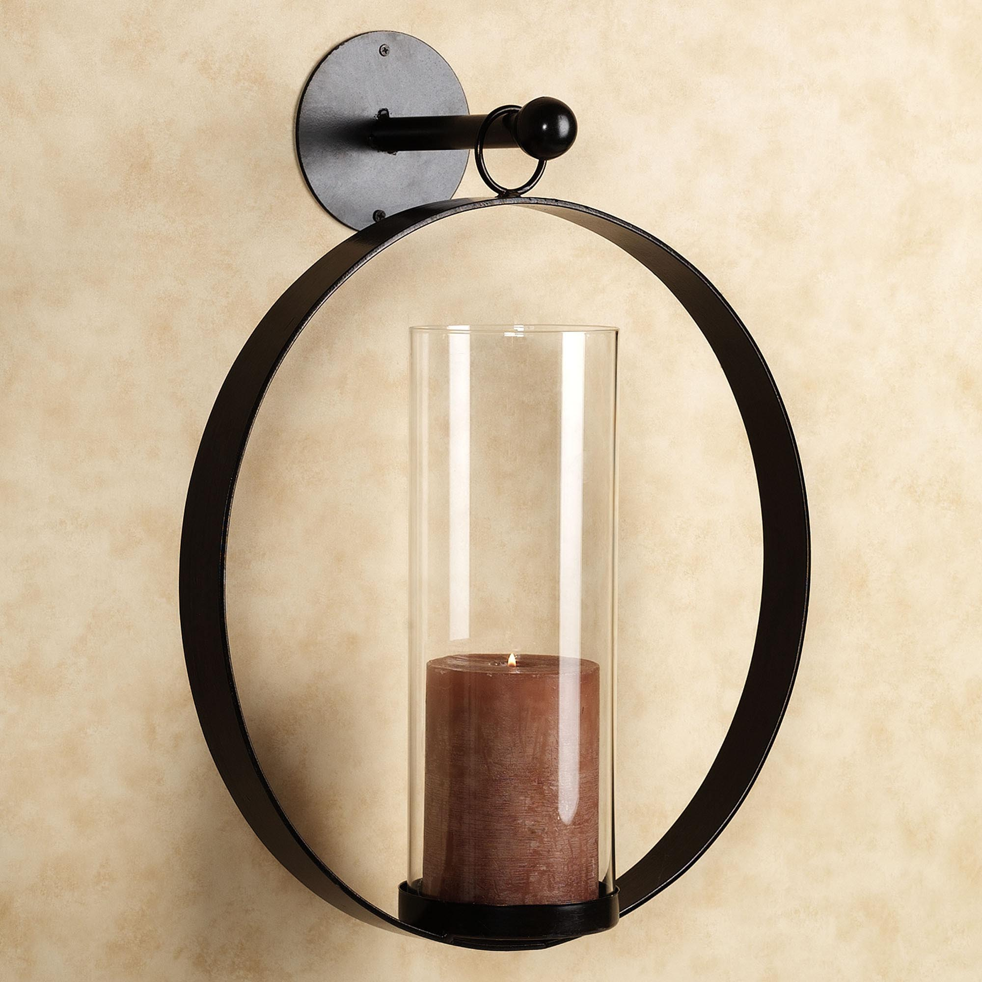 Hurricane Wall Sconce Candle Holder