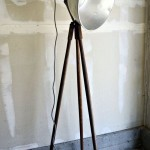 Industrial Tripod Floor Lamp
