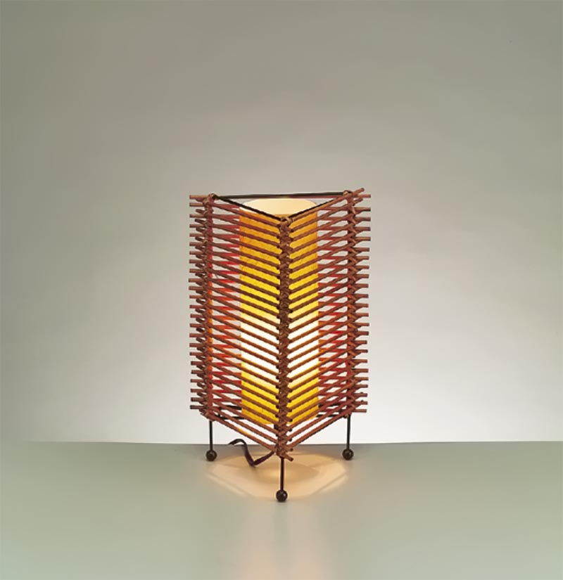 Japanese Lantern Floor Lamp