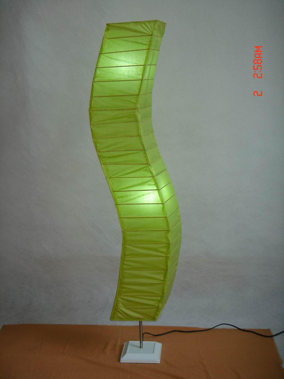 Japanese Paper Lantern Floor Lamp