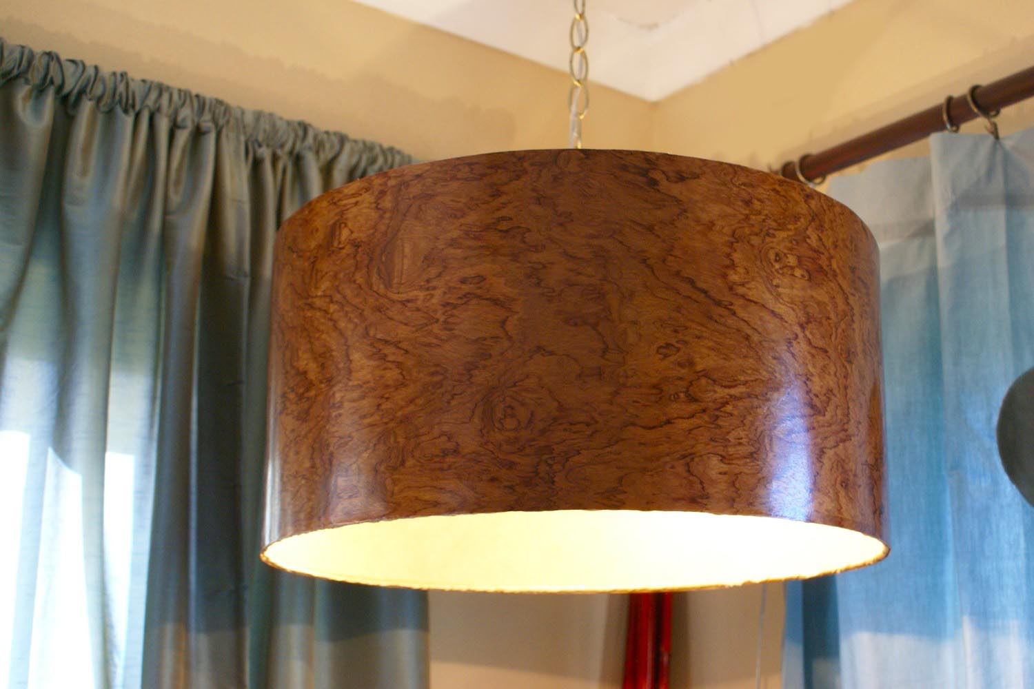 Large Drum Light Fixture