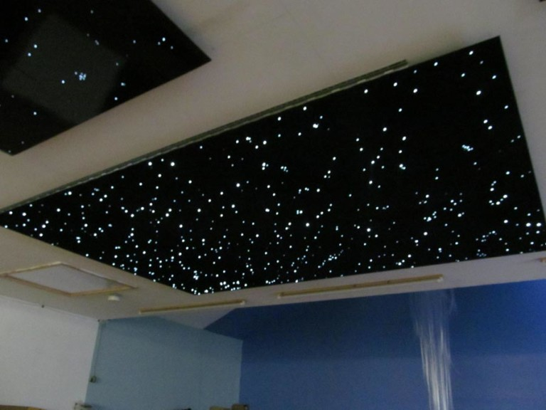 Light That Projects Stars on Ceiling