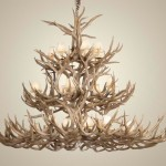 Make Deer Antler Chandelier