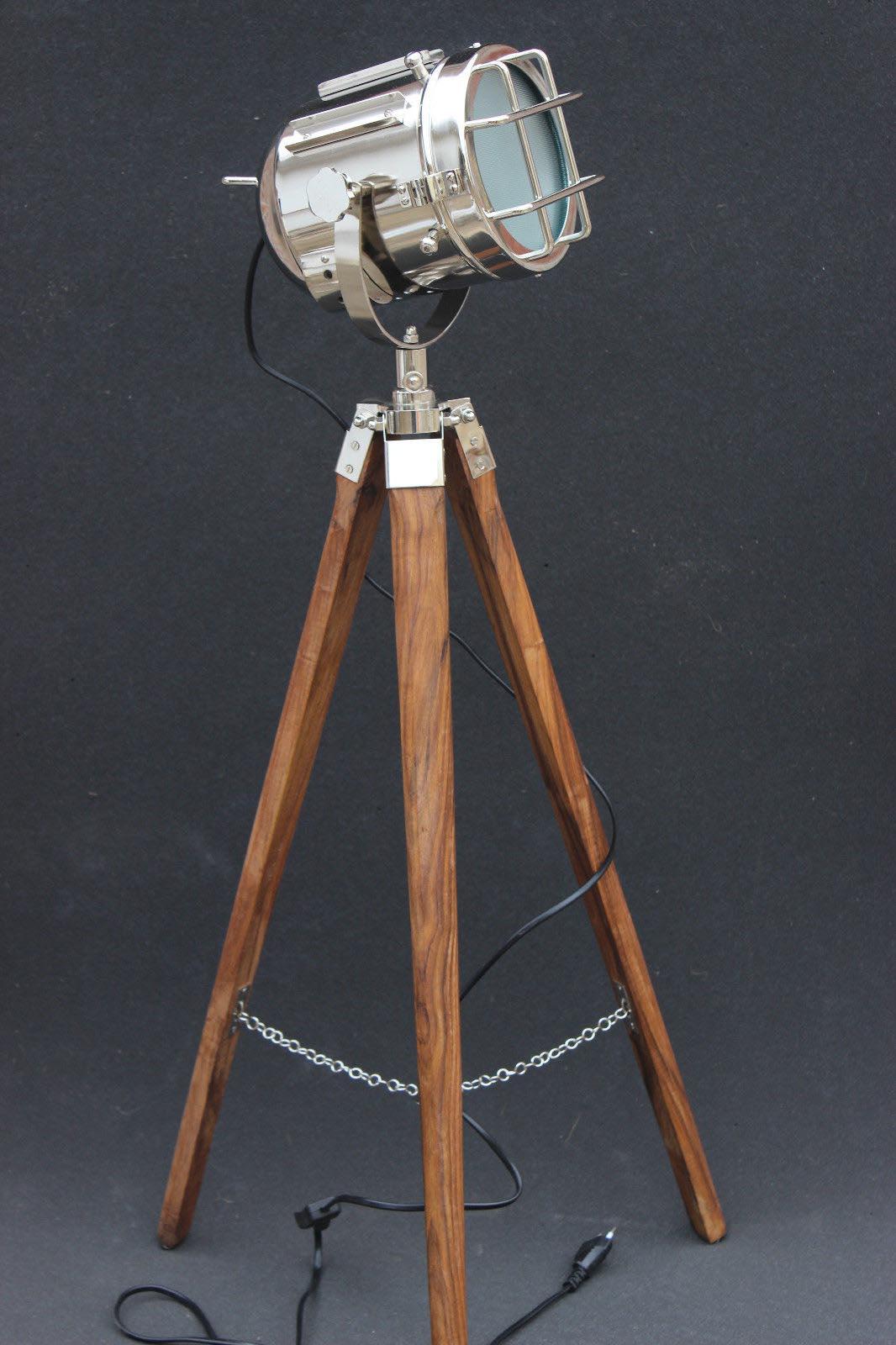 Marine Tripod Floor Lamp Light Fixtures Design Ideas