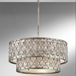 Metal Drum Shade Chandelier