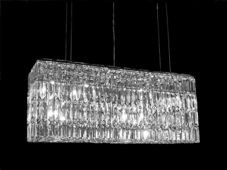 Mini Crystal Chandelier Pendants