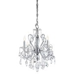 Mini Crystal Chandeliers for Bathroom