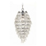 Mini Pendant Crystal Chandelier