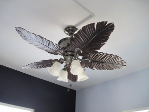 Moroccan Ceiling Fan Light