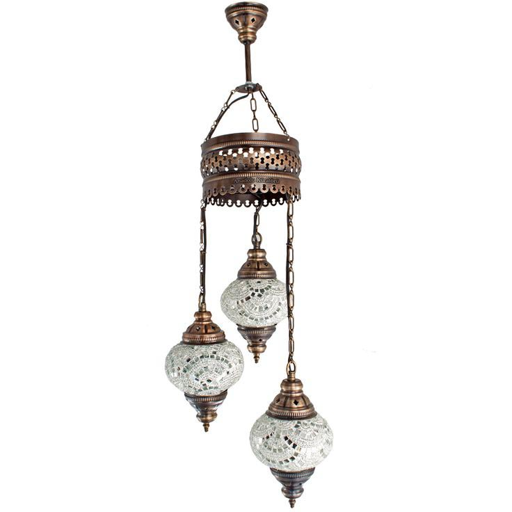 Moroccan Glass Ceiling Lights