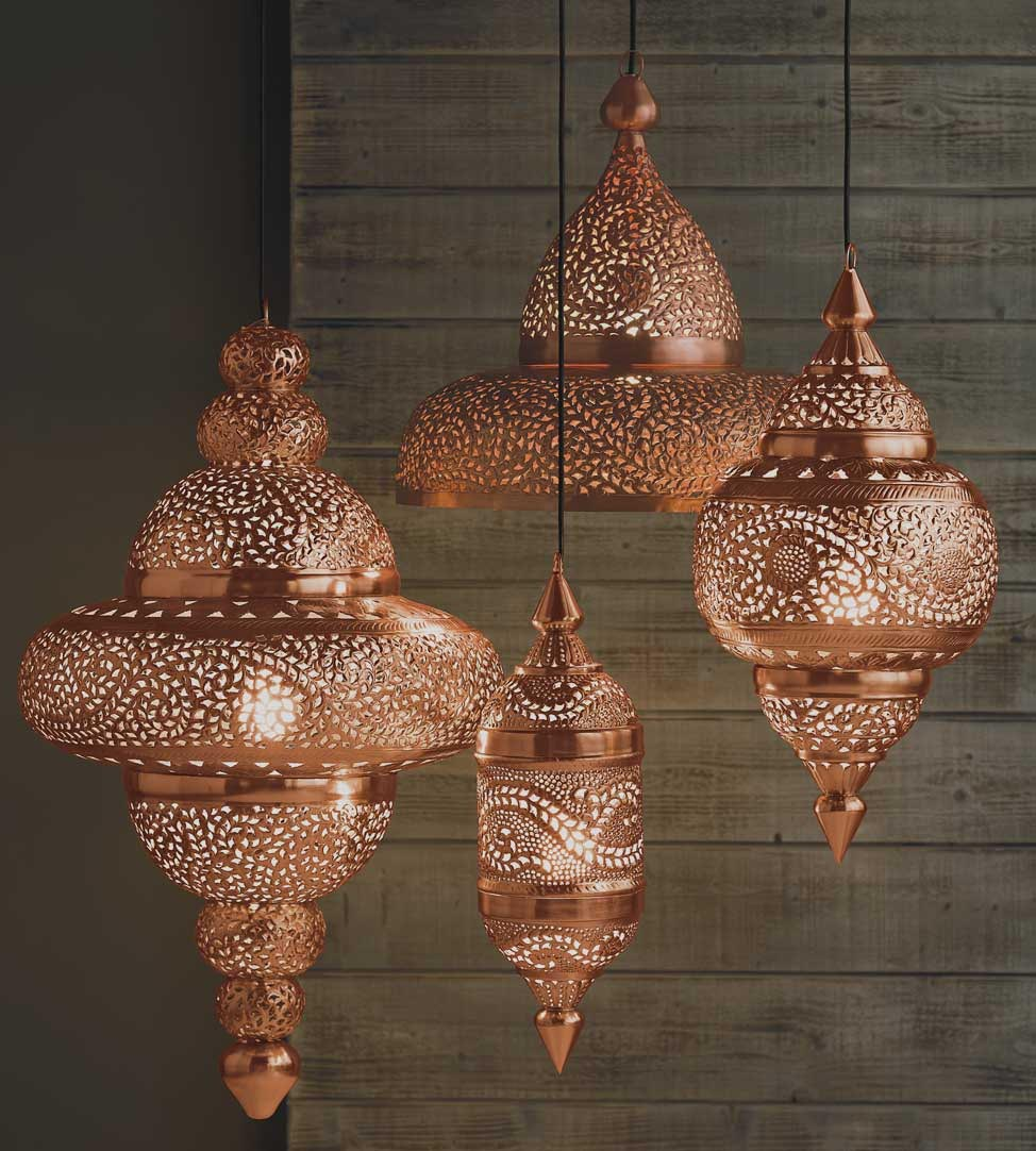 Moroccan Lantern Ceiling Light