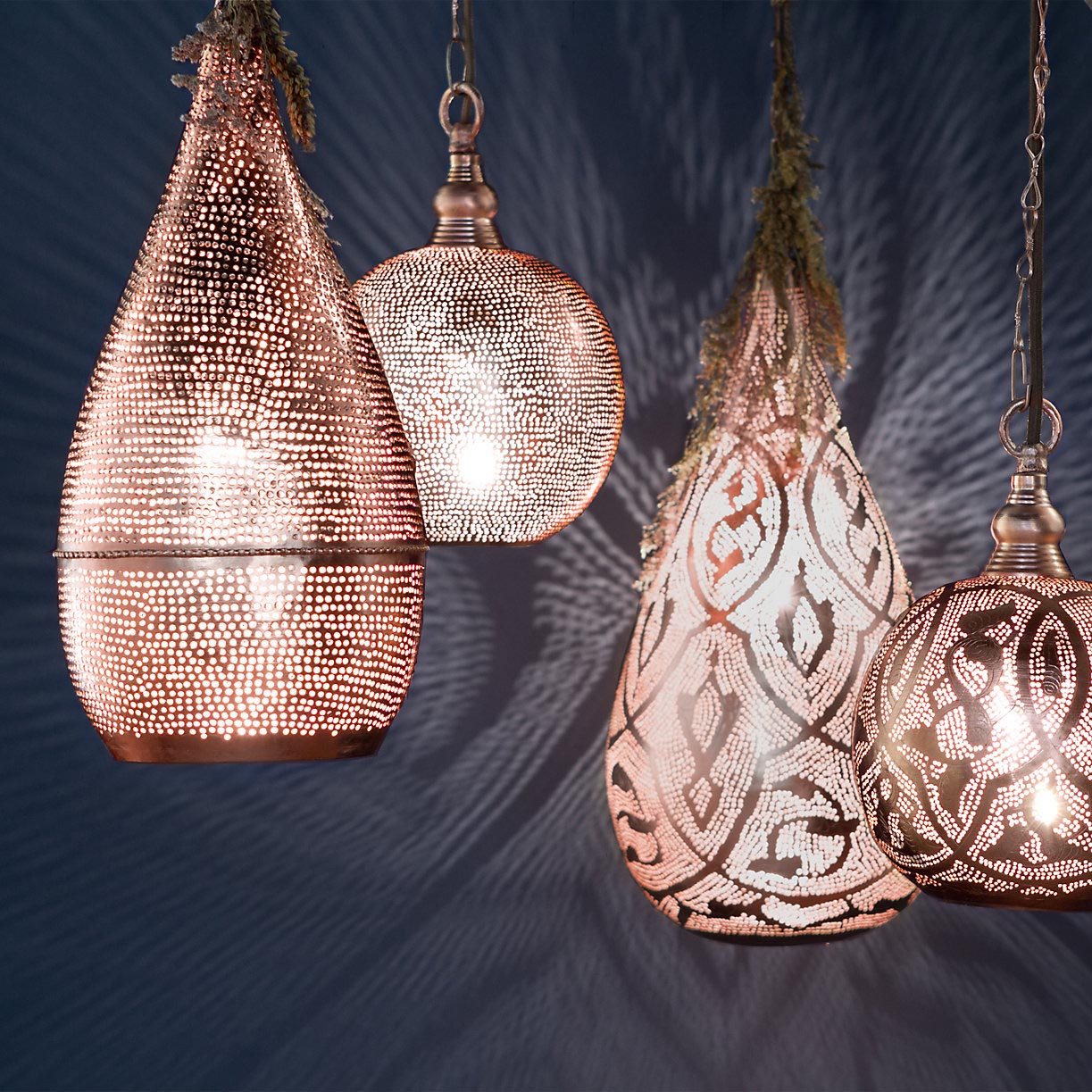 Moroccan Style Ceiling Lighting
