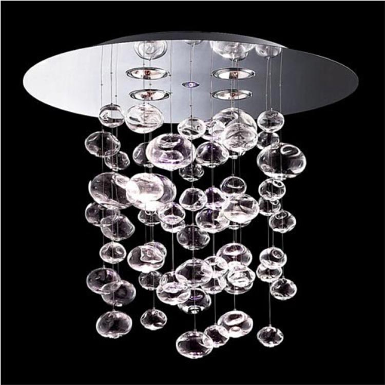 Murano Due Bubble Glass Chandelier