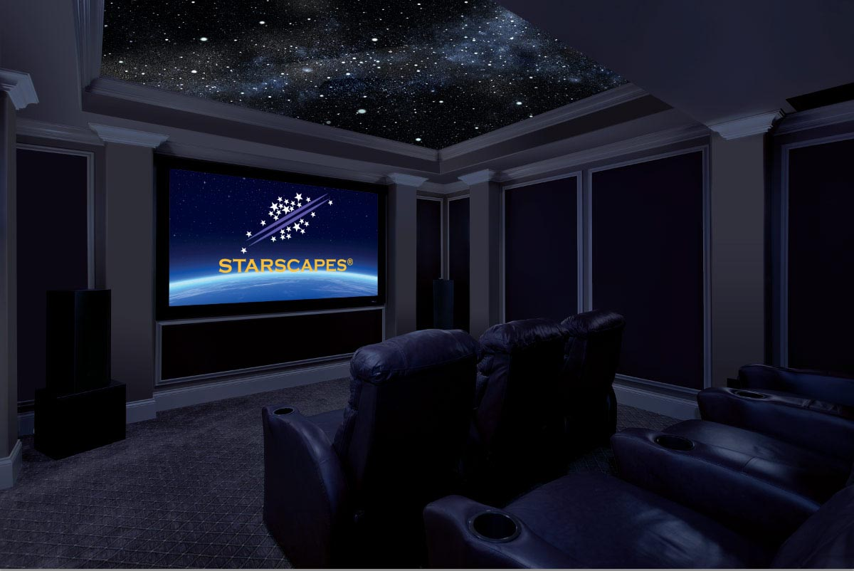Night Light with Stars on Ceiling