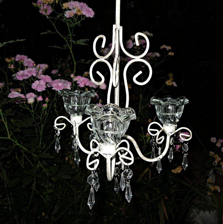 Outdoor Candle Chandeliers for Gazebos