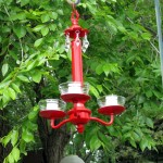 Outdoor Candle Holder Chandelier