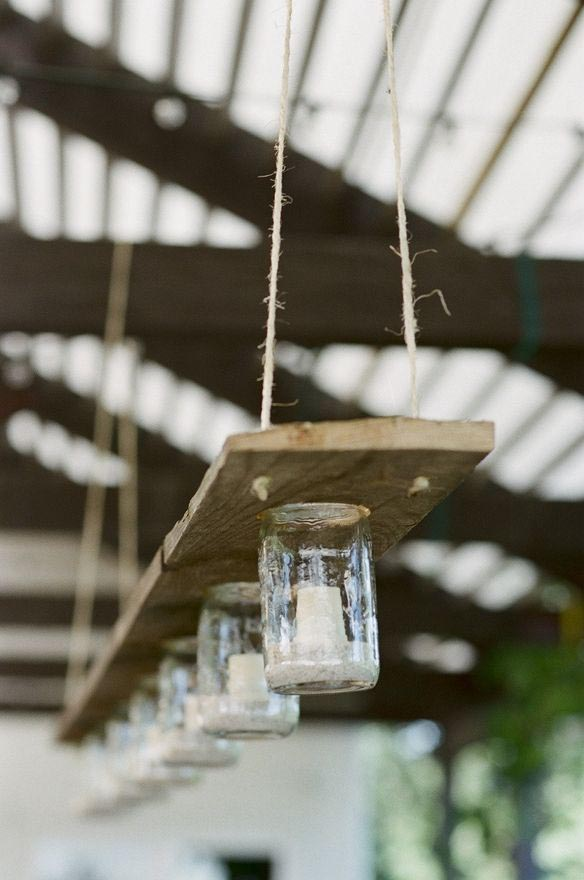 Outdoor Chandelier Candle Lighting