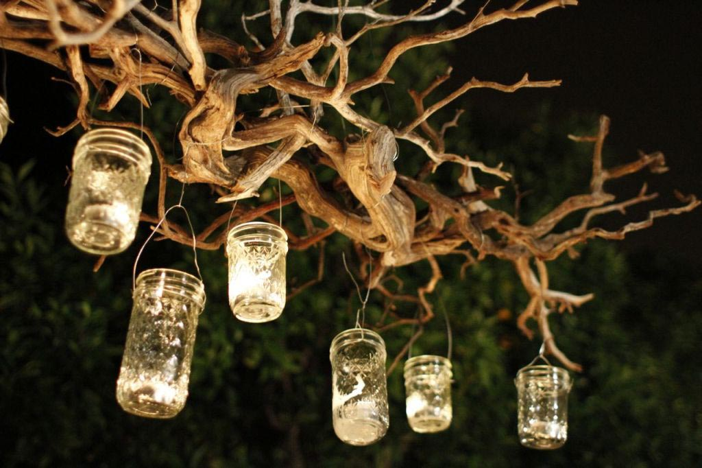 Outdoor Chandelier for Candles