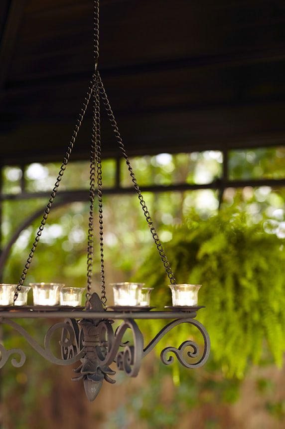Outdoor Chandeliers for Gazebos with Candles
