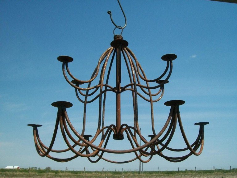 Outdoor Chandeliers with Candles