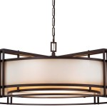 Pendant Drum Light Fixture