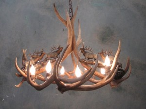 Pictures of Deer Antler Chandeliers