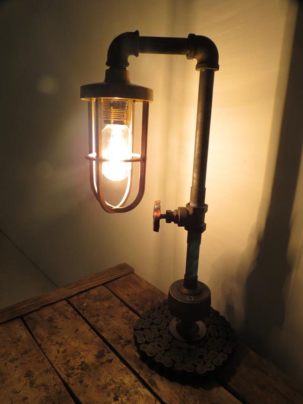Pipe floor lamp diy light fixtures design ideas for Diy led floor lamp